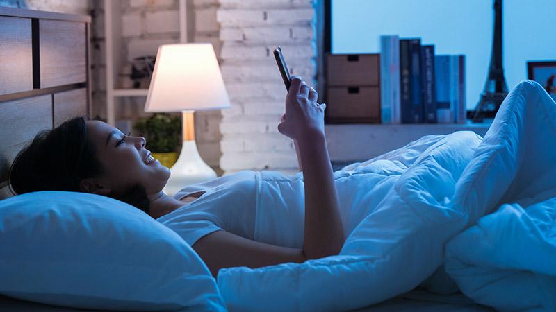 Inteligentne oświetlenie sypialnia