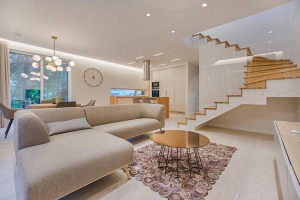 Komfortowy salon w Inteligentnym Domu